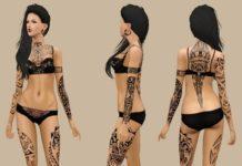 Татуировки от Onelama для Симс 3