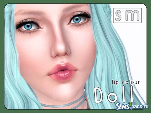 Блеск для губ от Screaming Mustard для Sims 3