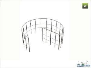 Стеклянная винтовая лестница от Gosik для Симс 3