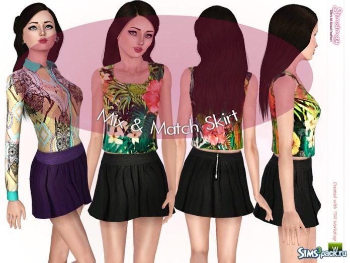 Набор одежды и обуви от Simsimay для Sims 3
