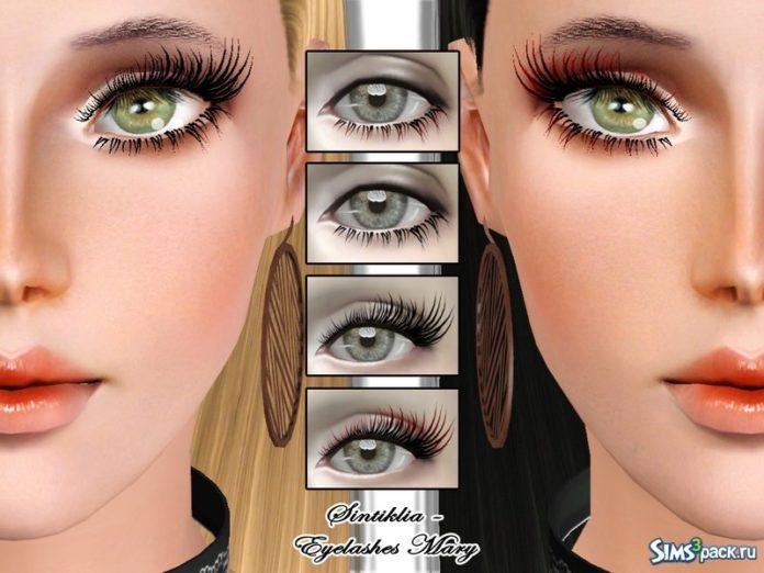 Ресницы от SintikliaSims для Sims 3