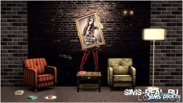 Обои Wall15 от Sims3loverdag для Sims 3