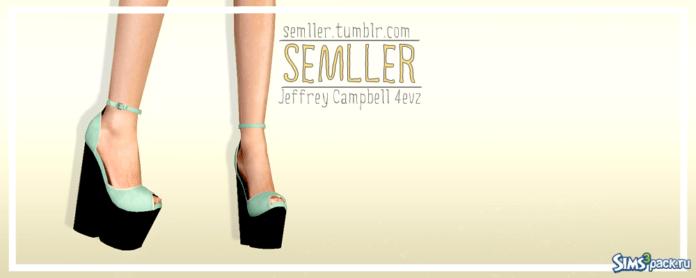 Обувь от Semller для Симс 3