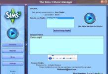 Программа Music Manager для Симс 3