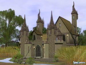Объекты для строительства Castle Lore IV от Cyclonesue для Sims 3