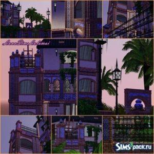Строительный набор от Luna для Симс 3