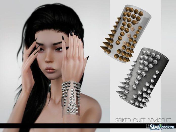 Шипованные браслеты от Leah Lillith для Симс 3