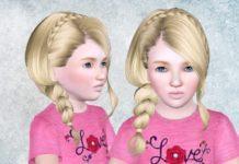 Прическа №235 для всех возрастов от Skysims для Sims 3