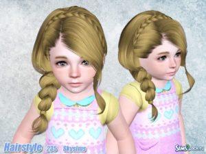 Прическа №235 для всех возрастов от Skysims для Симс 3