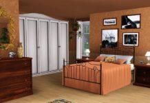 """Спальня """"Kenna"""" от Spacesims для Sims 3"""