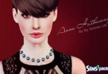 Ann Hathaway от My Simmer Life для Симс 3
