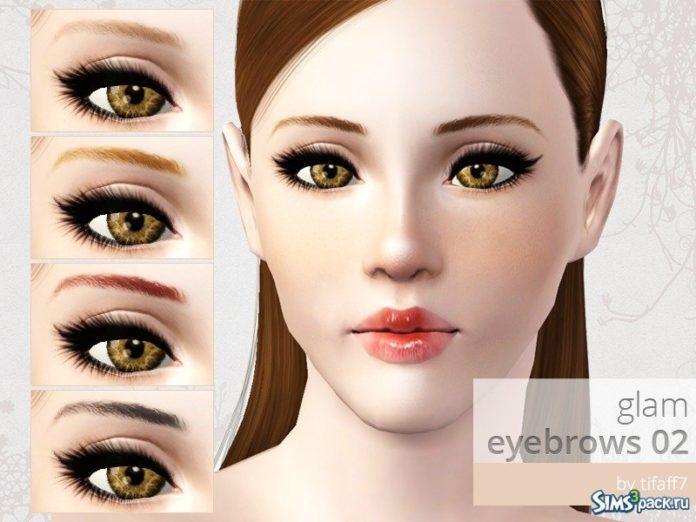Брови от tifaff7 для Sims 3