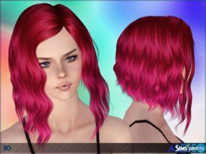 Прическа для женщин и детей XO от Alesso для Sims 3
