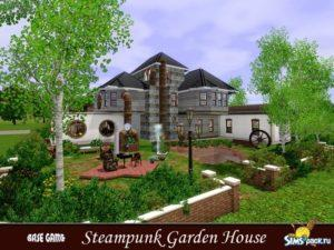 Дом в стиле Стимпанк от evi для Sims 3