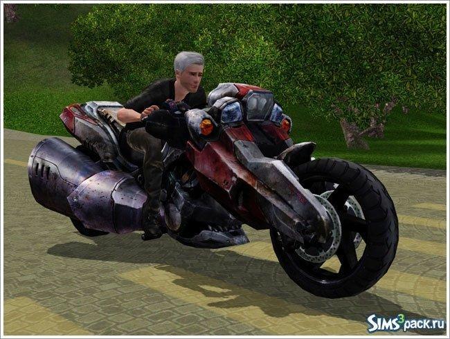 Мотоцикл Collapse от Severinka для Sims 3