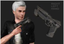 """Лазерный пистолет """"Forlan"""" от Severinka для Sims 3"""