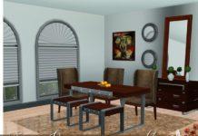 Столовая Savanna от Lulu265 для Sims 3