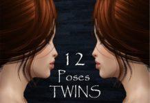 12 поз Twins от Mia8 для Симс 3