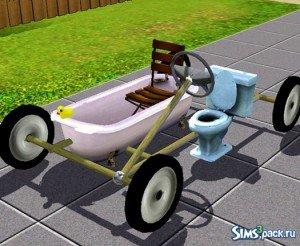 Чудо-автомобиль от Esmeralda для Симс 3