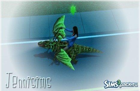Летающий дракон от Jennisims для Sims 3
