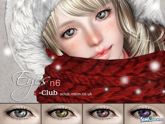 Глаза №6 от S-Club для Sims 3