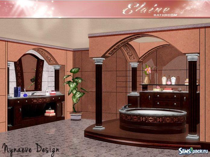 Ванная комната Elayne от NynaeveDesign для Симс 3