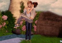 Позы для двоих Love Forever от Rayne для Симс 3