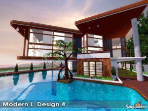 """Дом """"ML Design4"""" от Autaki для Симс 3"""