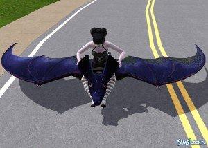 Гигантская летучая мышь от EsmeraldaF для Sims 3