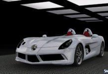 Mercedes-Benz SLR Stirling Moss 2010 от Understrech Imaginat для Симс 3