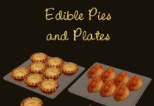 Съедобные пирожные и пирожки от Mimoto для Sims 3