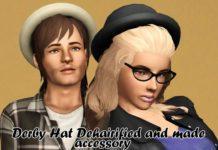 Шляпы от trae-lia для Симс 3