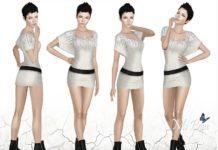 "Набор поз ""Eva"" от Ms Blue для Sims 3"