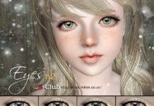 Глаза №2 от S-Club для Симс 3