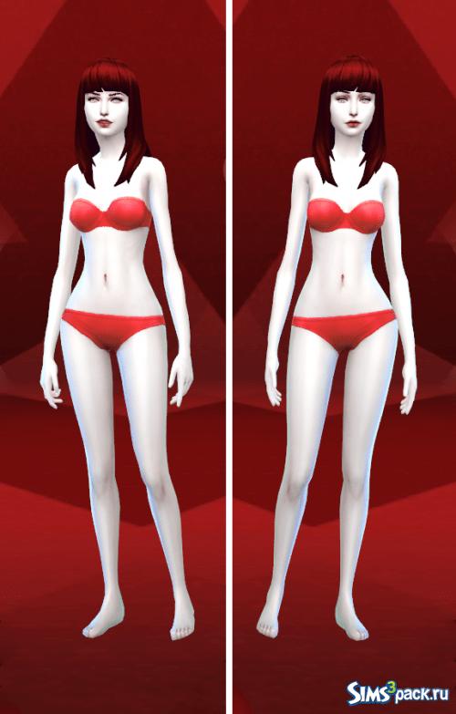Скин №1 от TaRiKs для Sims 4