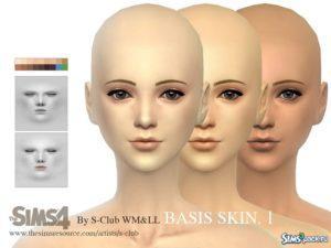 Скин Bassis I от S-Club для Симс 4