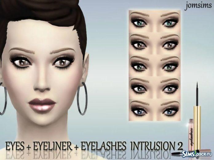 Набор косметики от jomsims для Sims 4