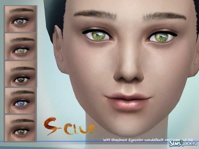 Глаза №2 от S-Club для Симс 4