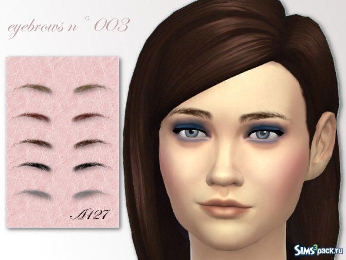Брови №3 от altea127 для Sims 4