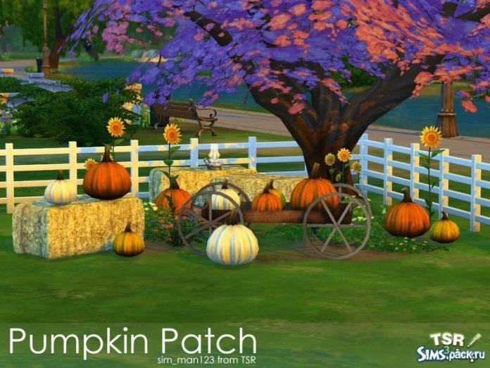 Набор Pumpkin Patch от sim_man123 для Sims 4