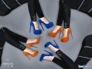 Коллекция обуви Dina от Sentate для Симс 4