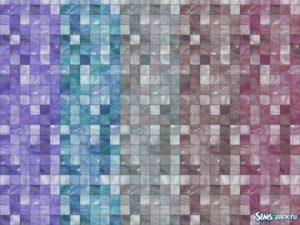 Глянцевая плитка от Hanagatami для Симс 4