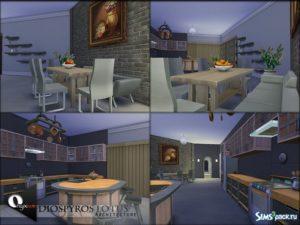 Дом Diospyros Lotus от Onyxium для Sims 4