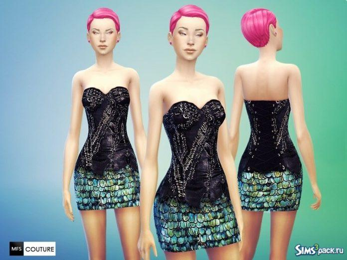 Платья Couture от MissFortune для Sims 4