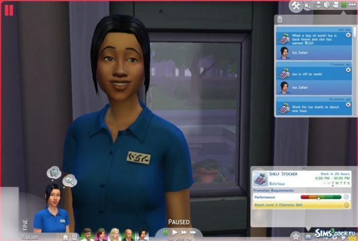Подростковая карьера для всех возрастов от plasticbox для Sims 4