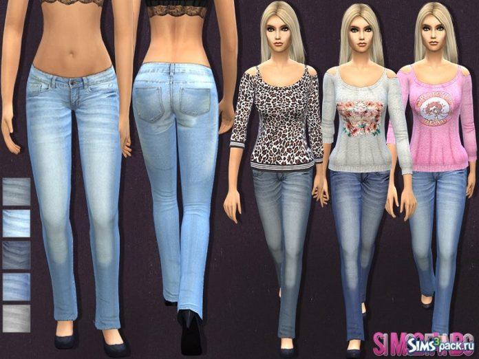 Набор женской одежды №11 от sims2fanbg для Симс 4