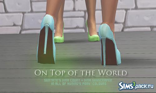 Туфли на каблуках от Plumbobbles для Симс 4