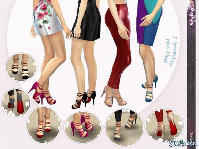 Туфли от Simsimay для Симс 4
