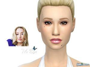 Симка Игги Азалия от Ms Blue для Sims 4