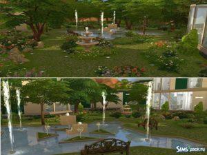 Дом Yokaste Modern Villa от Teishe для Sims 4